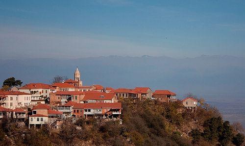Сигнахи (Город любви) - Бодбе (монастырь Св. Нино)