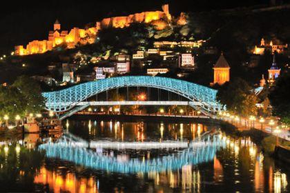 Официальная церемония в Тбилиси
