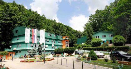 Курорт Атомска баня в Горня Трепча
