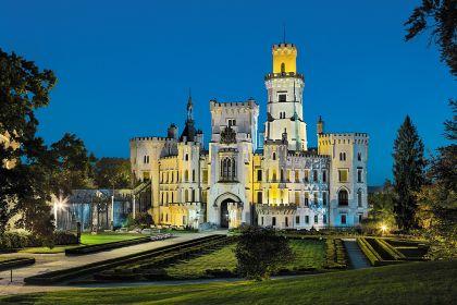 Свадьба в замке Глубока-над-Влтавой