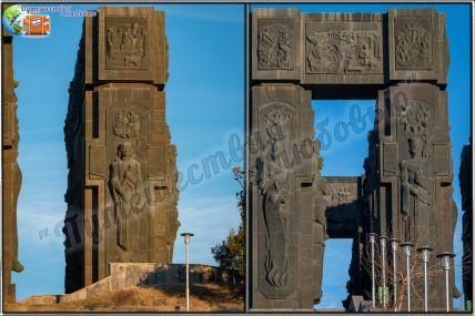 Монумент «История Грузии» (Сакартвело Матиани)